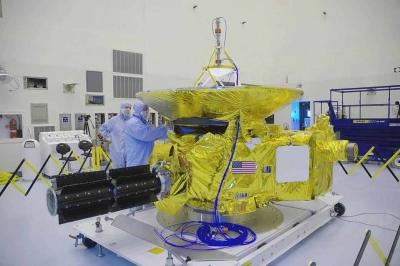 New Horizons en salle blanche